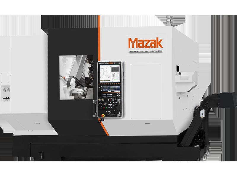 Investoimme Mazak Hyper Quadrex 200MSY ja robottisoluun