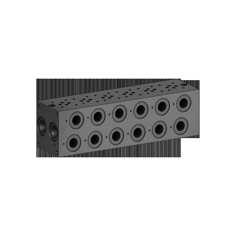 Monoblock Parallel circuit w/ Load Sensing