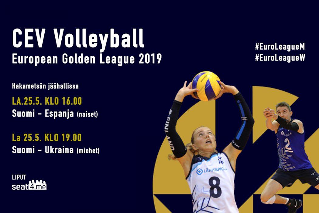 ST-Koneistus mukana Tampereen European Golden League -lentopalloturnauksessa!