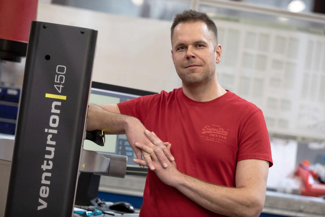 Hannu Tapio appointed new Method Developer of ST-Koneistus